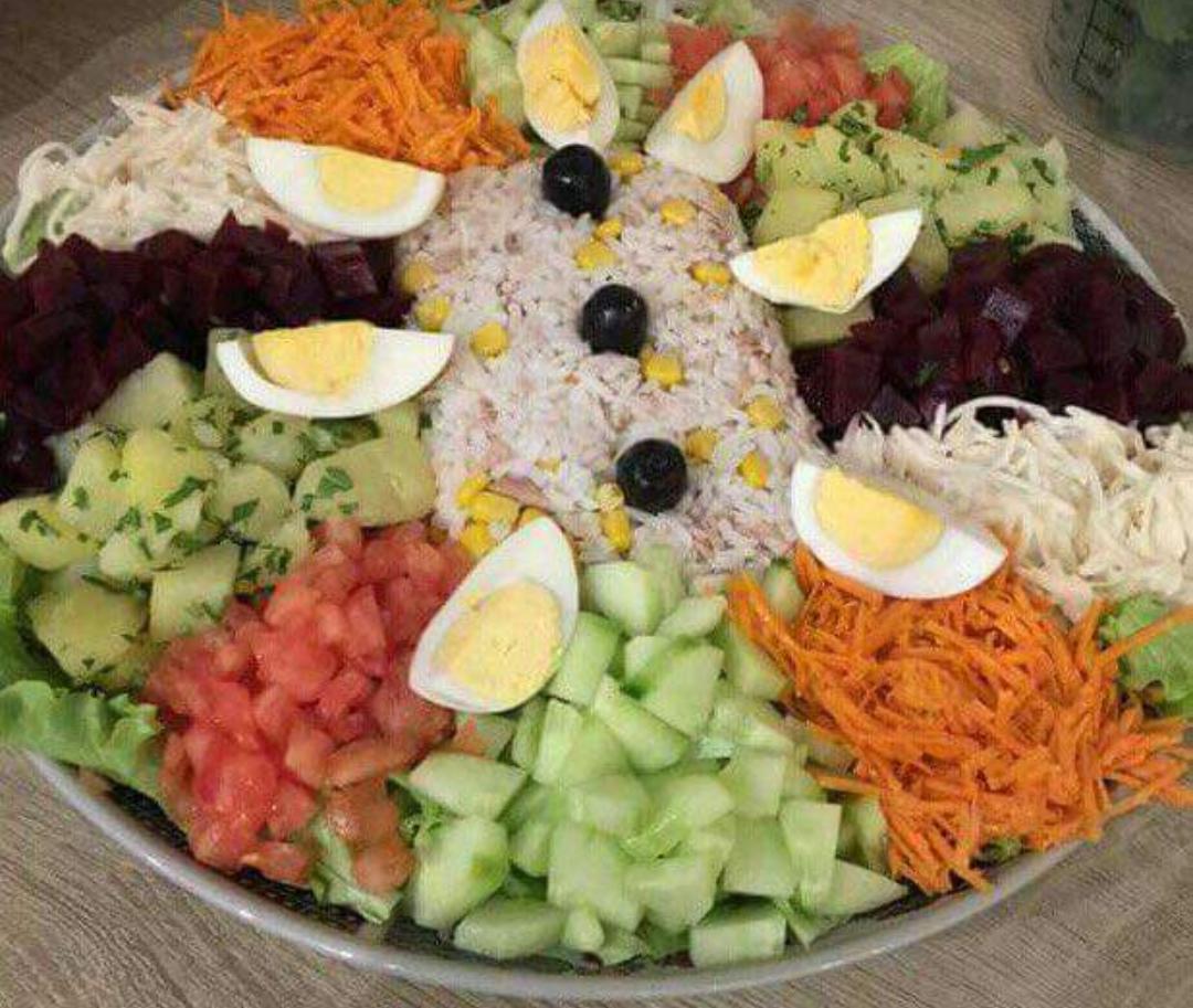 Idee D Entree.Salade Composee Une Idee D Entree Senbataxal